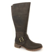 Timberland Women's Wenham Buckle Brown Leather Tall Boots 6906B Size 9.5 - £74.97 GBP