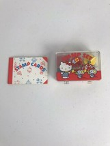 Vintage Hello Kitty Stamp Set And Stamps Card Book 1976 Sanrio Co. - $77.31