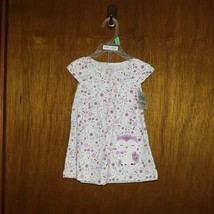 Carter's Child of Mine White & Purple with Owl 2 Pc Dress  - $12.99