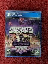 Agents of Mayhem w/ Legal Action Pending DLC PS4 PlayStation 4 BRAND NEW Sealed! - $5.49