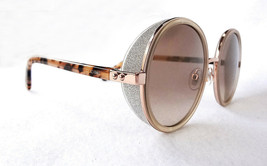 JIMMY CHOO Women's Sunglasses ANDIE/S J7A Gold Copper Avana 130 Round IT... - $199.95