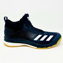 Adidas Crazyflight X 3 Mid Black Gum Womens Volleyball Shoes D97823 - $69.95