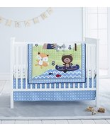Cuddle Time 3 Piece Crib Bedding Set, Adventure Land - $72.78