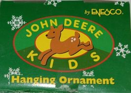 Enesco 865699 John Deere Kids Hanging Ornament Yellow Backhoe image 7