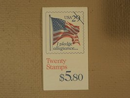 USPS Scott 2593a 29c Pledge of Allegiance Book of 20 1992 Stamps Mint Bo... - $10.99