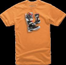 Alpinestars Youth Tech 7 T-Shirt Tee Shirt Orange S - $18.95