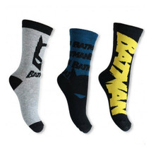 BATMAN SOCKS PACK OF 3 PAIRS SIZES 9-12, 12.5-2, 2.5-3.5 - $3.42+