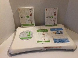 Wii Fit (Nintendo Wii, 2008) Game And Balance Board Bundle - $14.03