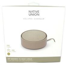 Native Union Eclipse USB Charger 3-port USB w/ Cable Management Black NE... - $25.71