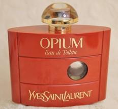 Yves Saint Laurent Opium Empty Perfume Eau de Toilette EDT Bottle 2oz 60ml - $39.59