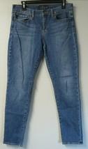 Womens Lucky Brand Sofia Skinny Blue Jeans Cotton Blend Denim Size 12/31... - $24.74