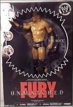 The Rock WWE Unmatched Fury Action Figure JAKKS NIB Platinum Edition Ser... - $29.69