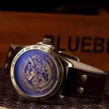 Luxury Vintage Retro Automatic Mechanical Watch- Automatics Self-Wind- Antique w image 4