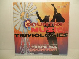 COUNTRY MUSIC TRIVIOLOGIES The Music Trivia Game That's All Country! NEW! - $26.62