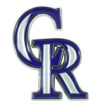 Fanmats MLB Colorado Rockies Diecast 3D Color Emblem Car Truck RV 2-4 Day Del. - $15.83