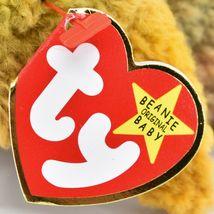 1998 TY Beanie Baby Beak the Kiwi Bird Beanbag Plush Toy Doll image 6