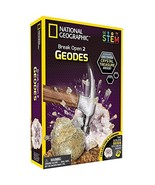 NATIONAL GEOGRAPHIC - Crack Open 2 Geodes and Explore Crystals - $11.05