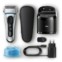 Braun Series 8 Wet/Dry Electric Shaver with Clean Charge Station & Trave... - $111.25