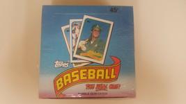 RARE 1989 Topps Baseball Card Tamper-proof Cello Box 36 Wax Packs, 15 ca... - $63.65