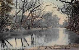 On The Swannanoa River North Carolina 1911 postcard - $6.44