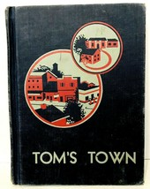 Tom's Town Reader Children's Book by John C Winston Company 1950 Elementary - $11.87