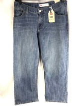 Levi's 505 Regular Jeans Boys 14 Husky Mens 33 X 28 Straight RELAXED Blu... - $34.15
