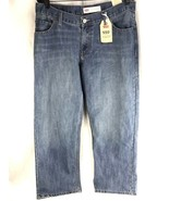 Levi's 505 Regular Jeans Boys 14 Husky Mens 33 X 28 Straight RELAXED Blu... - $37.95