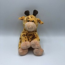 "Ty Pluffies Towers the Giraffe Plush Stuffed 8"" Orange Brown Tylux - $14.84"
