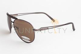Serengeti Torini Espresso Tan / Polarized Drivers Sunglasses 7253 - $146.51