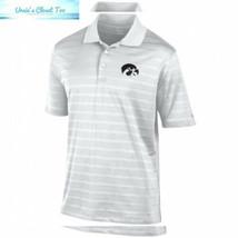 Elite Fan Shop NCAA Men's Performance Polo White X-Large, Iowa Hawkeyes - $33.04
