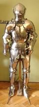 Medieval Renaissance Wearable Costume Full Suit Of Armour - Larp Reenactment - $1,299.00