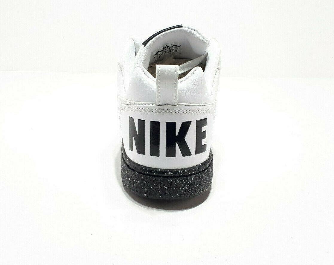 Nike Court Borough Low SE Men Shoes 916760-100 Black/White Sneakers Sz 9, 10, 11
