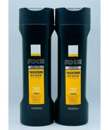 2 x Axe Thickening With Caffeine THICK & FULL Shampoo 12 oz Each Free Shipping - $22.99