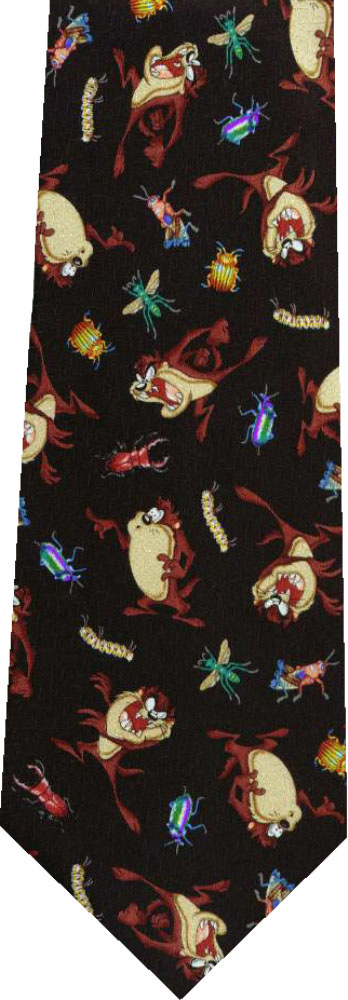 Primary image for Taz and bugs Looney Tunes new Novelty Necktie