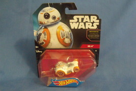 Toys Mattel NIB Hot Wheels Disney Star Wars BB 8 Die Cast car - $9.95
