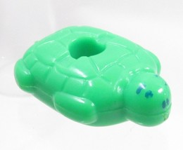 1990 Polly Pocket Dolls Bathtime Soap Dish - Green Turtle Float Bluebird... - $5.00