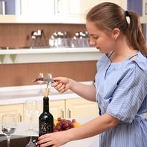 MICHELANGELO Professional Waiters Corkscrew With Rosewood Handle Bonus L... - £11.69 GBP