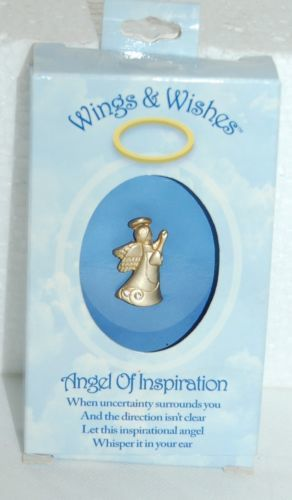 DM Merchandising Inspiration Angel Gold Colored With Stones WGW3-INSP