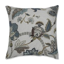 Pillow Perfect Finders Keepers Throw Pillow, 16.5-Inch, Blue - £33.52 GBP