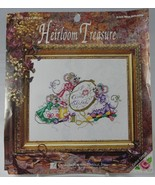 """Mice Stitching I Love (Heart) Cross Stitch 5268 11 x 14"""" Designs for the... - $12.35"""