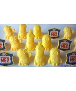 Despicable Me Minions 24 Cupcake Rings Birthday Party Bag Fillers Favors... - $6.79