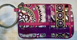 Vera Bradley Bangle Bracelet Ring Wristlet Pouch Wallet Purse Very Berry... - $27.00