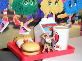 Barbie McDonalds Happy Meal w/toy Tray (C) fits Fisher Price Loving Fami... - $14.99
