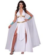Womens Glorious Roman Empire Greek Goddess Full Halloween Costume Set Dr... - $31.99