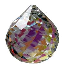 Swarovski Crystal Swirl Cut Ball Prism image 6
