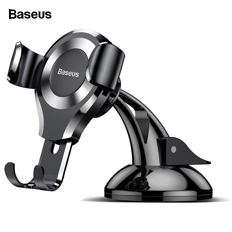 Baseus Gravity Car Phone Holder Suction Cup Car Holder Mobile Phone Holder Stand - £12.03 GBP