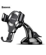 Baseus Gravity Car Phone Holder Suction Cup Car Holder Mobile Phone Hold... - £12.19 GBP