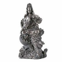 Buddha Goddess Deity Guan Yin Buddhist Collective Home Decor Eastern Asia - $51.47