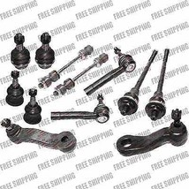 Suspension Kit Tie Rod End Ball Joints Sway Bar For 4WD Cadillac Fits Es... - $83.22