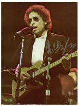 Bob Dylan autographed 8.5x11 color photo - $74.25